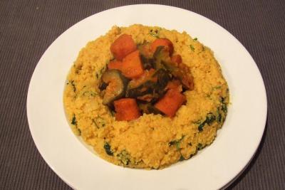 Cuscús con verduras